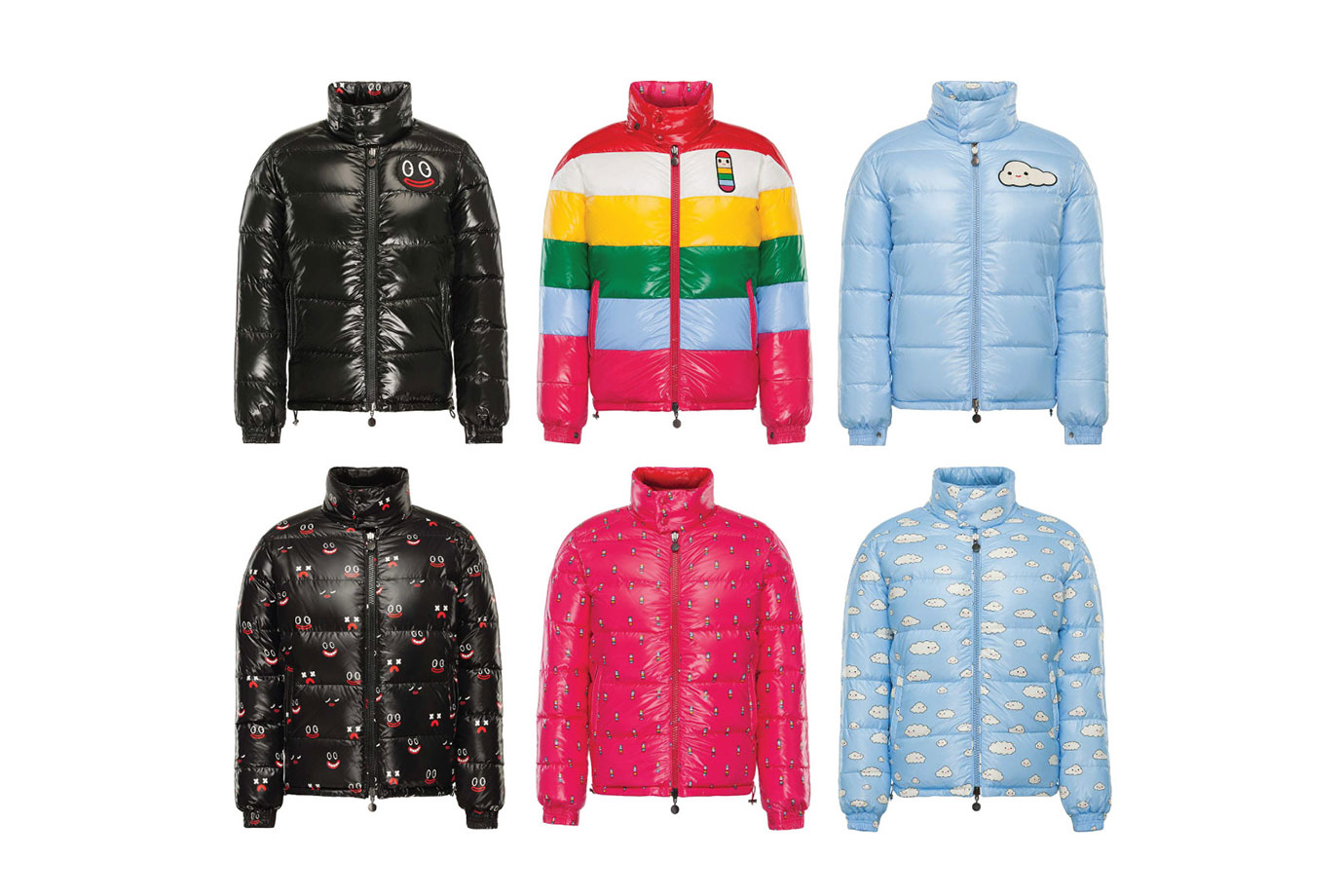 """FriendsWithYou x Moncler 2015 Winter """"Happy Virus"""" Capsule Collection"""