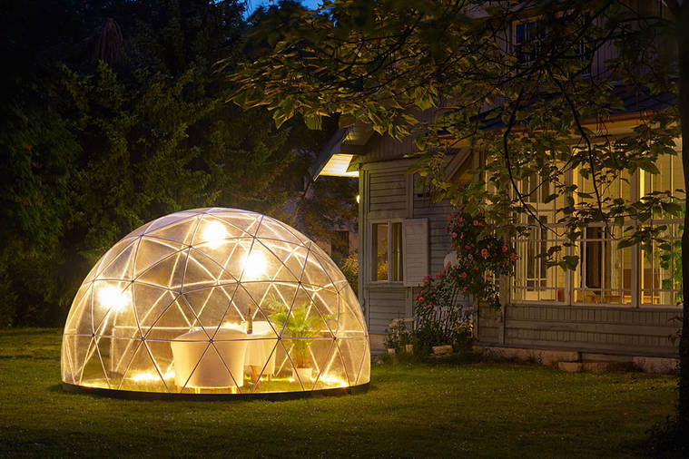 The Garden Igloo Just Made Your Outdoor Experience More Interesting