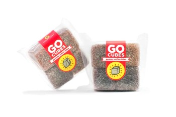 Eat Your Coffee With GO CUBES Gummy Coffee Bites