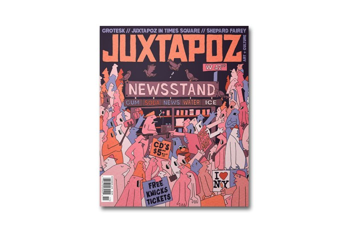 Grotesk Covers the 2015 November Issue of 'Juxtapoz'