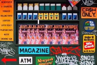 Grotesk x Victory Journal x Juxtapoz T.SQ Newsstand in Times Square