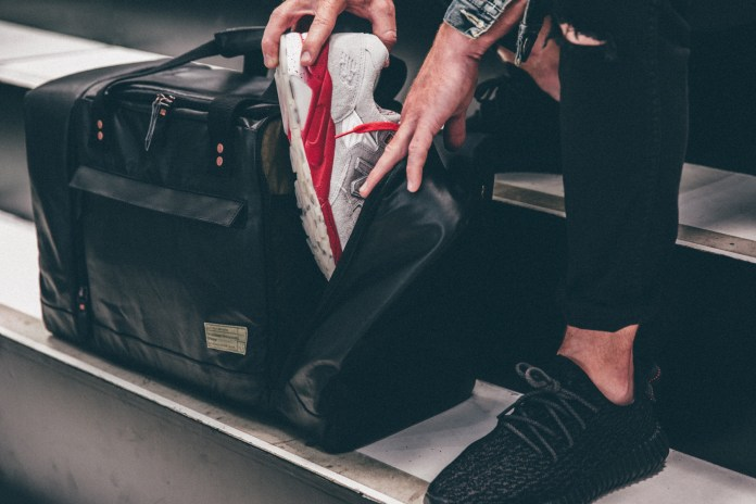 HEX Unveils the Perfect Duffel for Sneakerheads