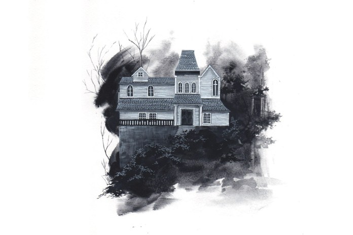 Candice Tripp Paints Cinema's Houses of Horror