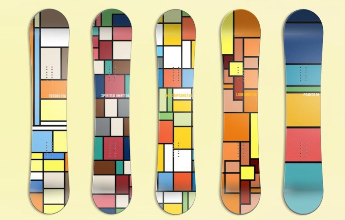 Hyo Kim Taek Brings Pop Culture Inspiration to Snowboards