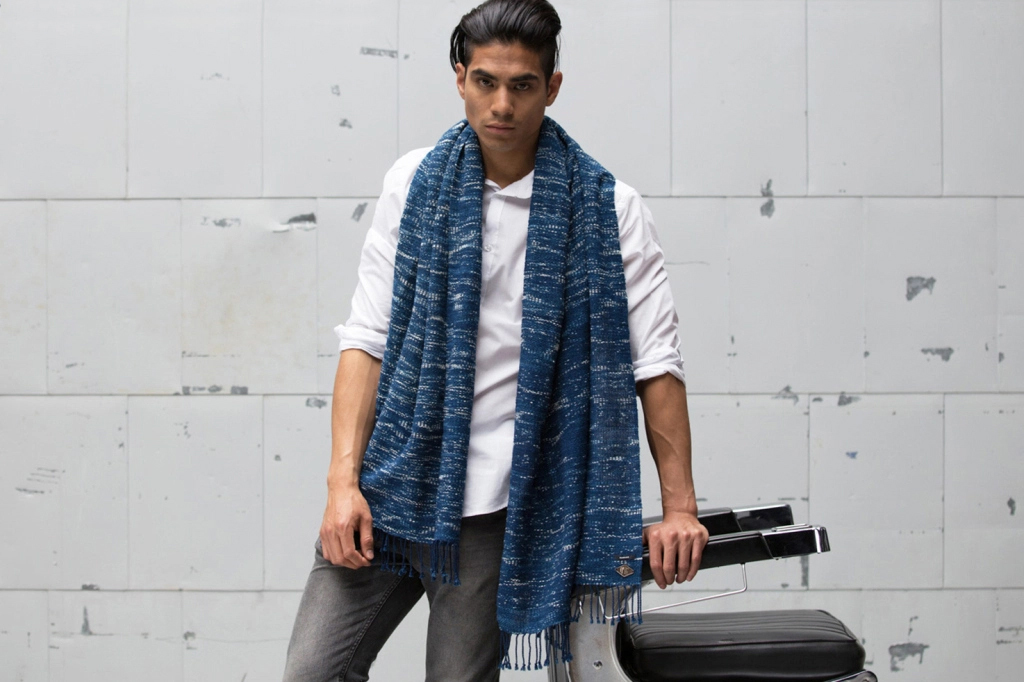 Indigo People x Denham Scarves