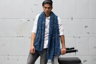 Indigo People x Denham Scarves
