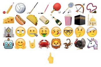 iOS and Mac OSX Updates Arrive With Taco and Middle Finger Emoji