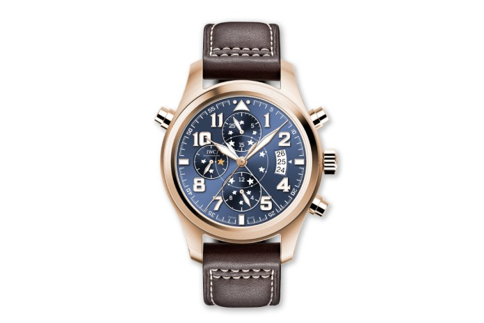 "IWC Schaffhausen Pilot's Watch Double Chronograph Edition ""Le Petit Prince"""