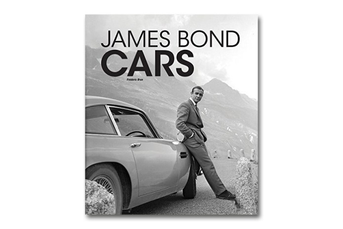 This Book Profiles Five Decades of 007's Cars
