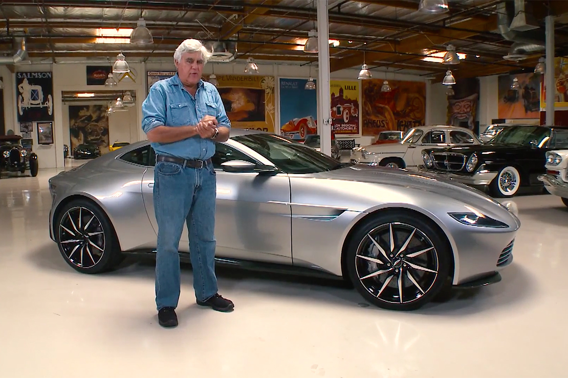 Jay Leno Takes James Bond's 2016 Aston Martin DB10 for a Spin