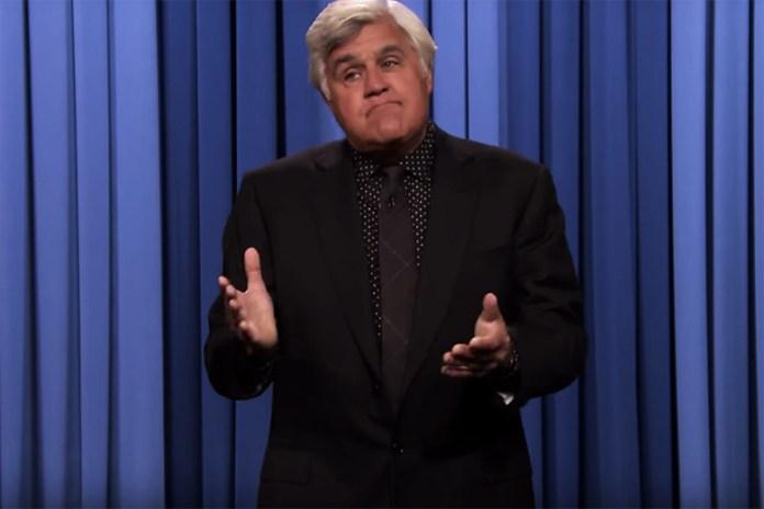 Jay Leno Returns to 'The Tonight Show'