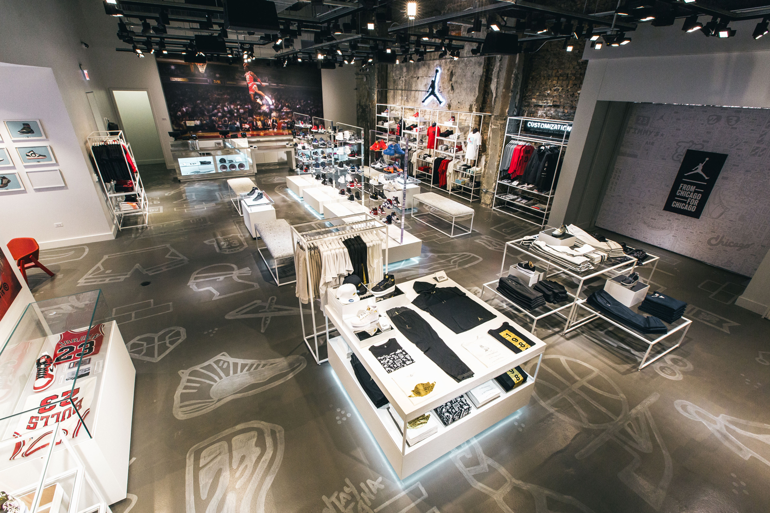 jordan store chicago station 23 hypebeast