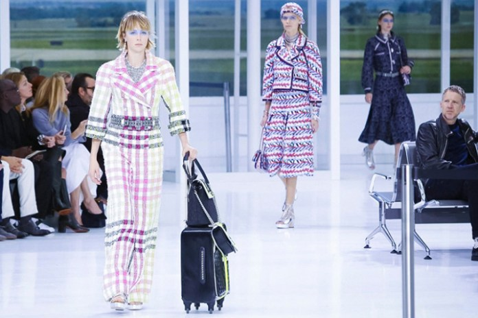 Karl Lagerfeld Transforms the Grand Palais Into an Airport for Chanel's 2016 Spring/Summer Runway Show