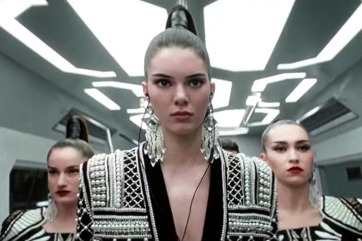 Balmain x H&M 2015 Fall/Winter Campaign Video Starring Kendall Jenner