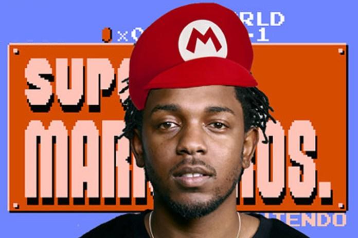 "Kendrick Lamar Meets 'Super Mario Bros.' in ""King Kunta"" Mash-Up"
