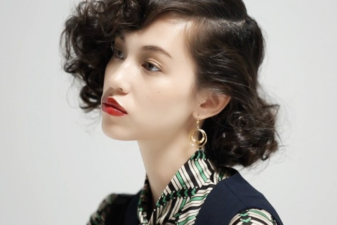 Kiko Mizuhara for Opening Ceremony 2015 Fall/Winter Collection