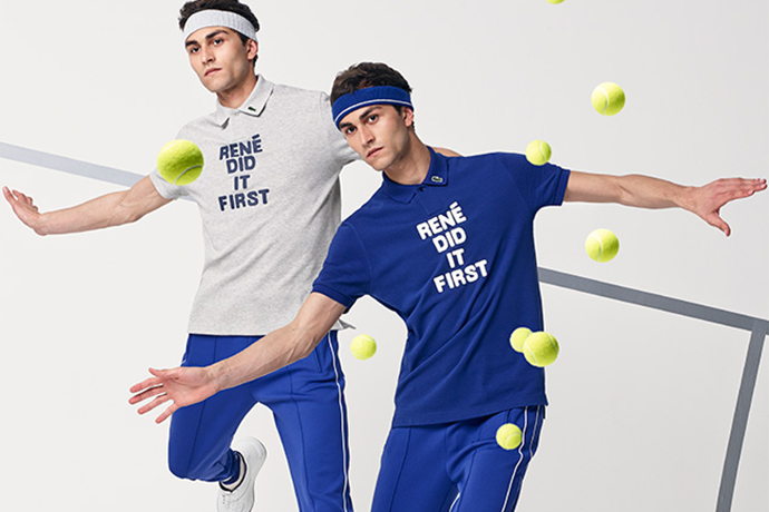 """Lacoste 2015 Fall/Winter """"René Did It First"""" Capsule Collection"""