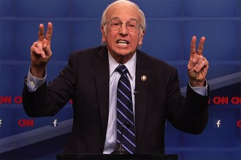 Larry David Becomes Bernie Sanders for Saturday Night Live