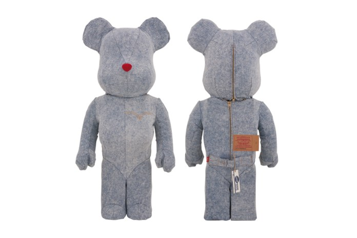 Levi's x Medicom Toy Wash Denim Bearbricks