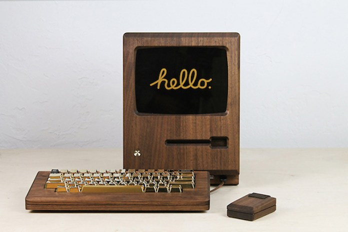 "Love Hultén's ""Golden Apple"" Recreates the 1984 Macintosh in Walnut Wood"