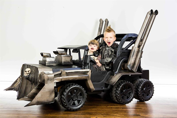 Mad Max: Fury Road Kids Costumes Done Right