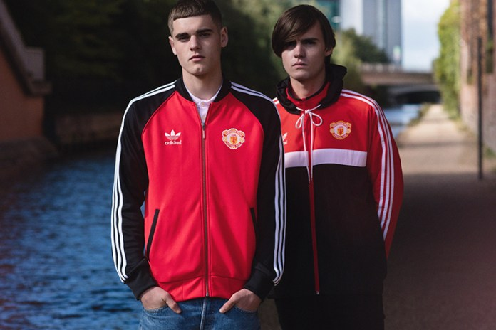 Manchester United x adidas Originals 2015 Apparel Collection