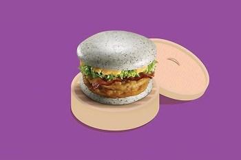 McDonald Unveils the Gray Burger