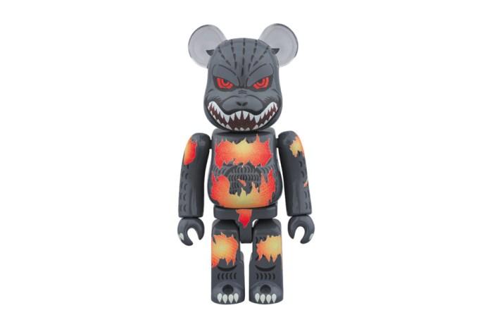 Medicom Toy DESGODZI Burning Godzilla BE@RBRICK