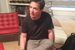 Michael J. Fox and His Official Nike MAGs