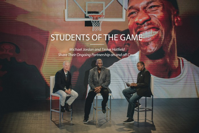 Students of the Game: Michael Jordan and Tinker Hatfield Share Their Ongoing Partnership on and off Court