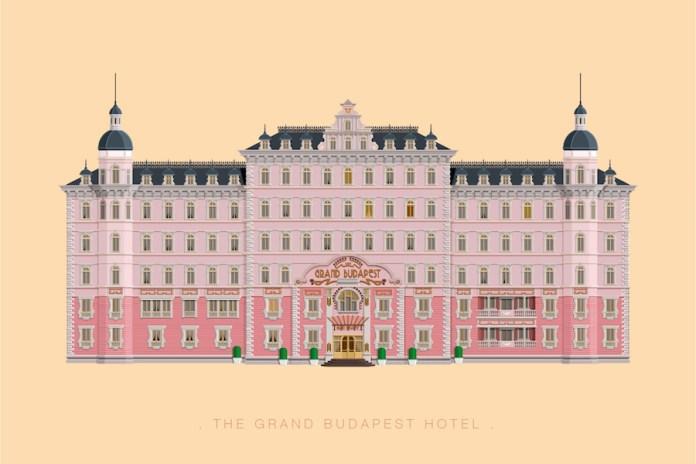 Minimalist Illustrations of Famous Movie and TV Sets
