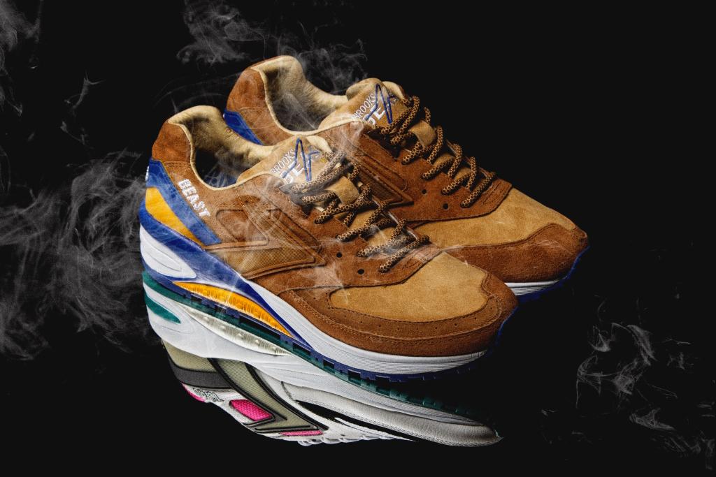"mita sneakers x Brooks Heritage Beast 1 ""Enchantment"""