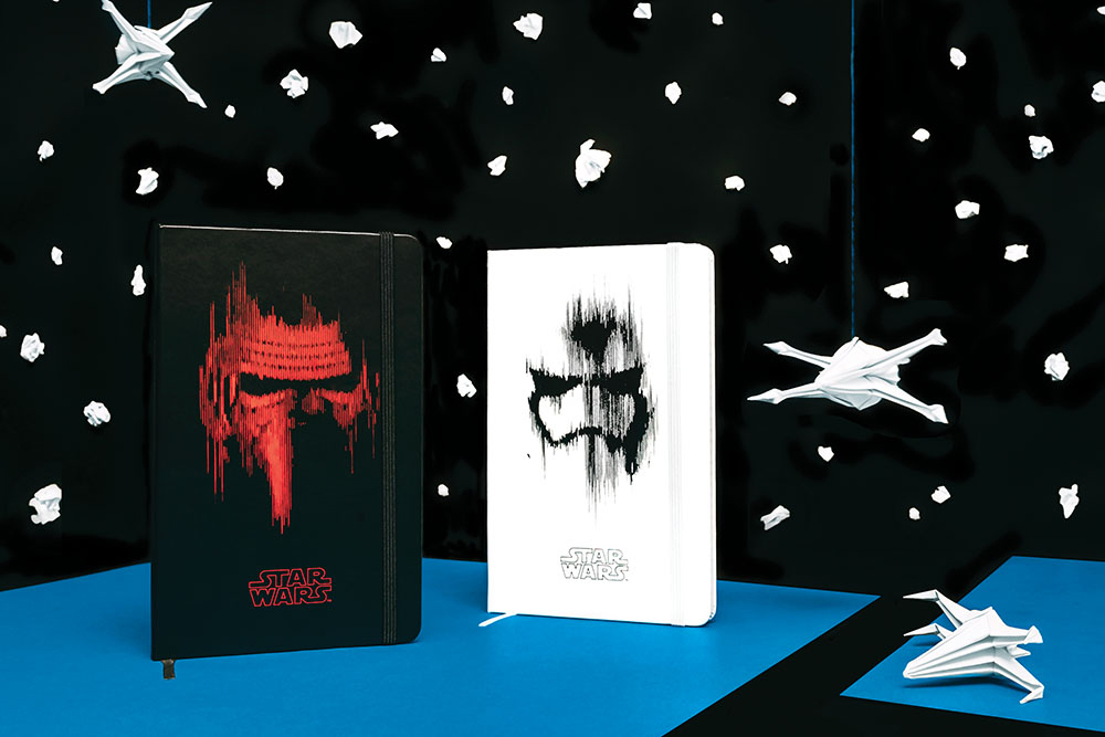 Moleskine Releases 'Star Wars' Notebooks With X-Wing Starfighter Origami Templates