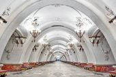 Check out Moscow's Palatial Underground Metro Stations