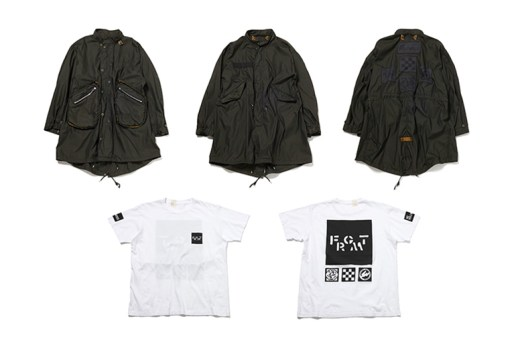 N.H.TPES x fragment design for the POOL aoyama 2015 Fall/Winter Collection