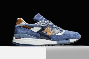 "New Balance 998 ""Camel Blue"""