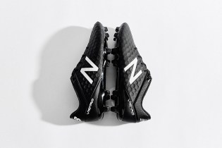 "New Balance Visaro ""Blackout/Whiteout"" Football Boots"