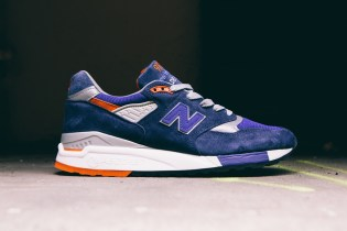 "New Balance Made In USA M998CSAL ""Navy/Deep Blue"""