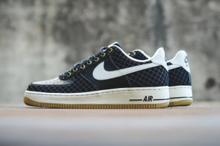Nike Air Force 1 Black/Light Bone