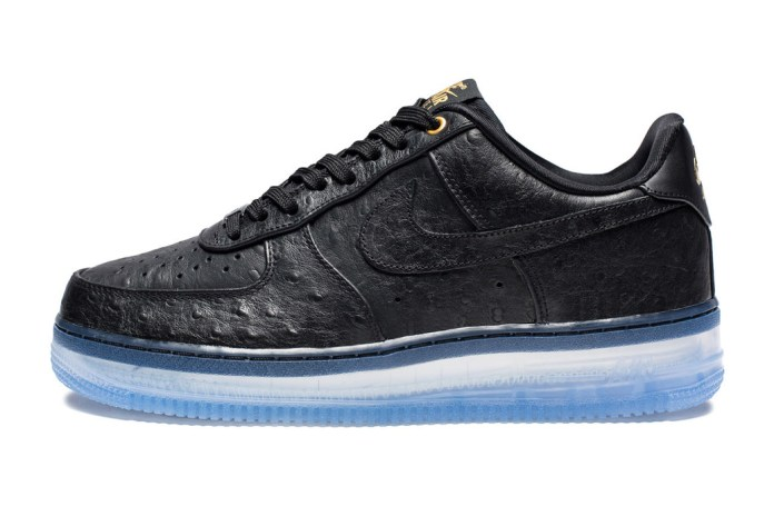 """Nike Air Force 1 Comfort Lux Low """"Black/Clear"""""""