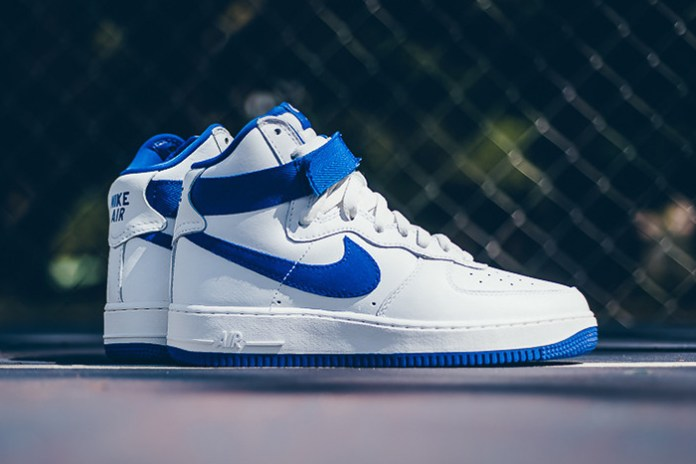 A Closer Look at the Nike Air Force 1 Hi Retro QS Summit White/Game Royal