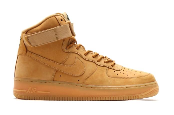 """Nike Air Force 1 High """"Flax"""""""