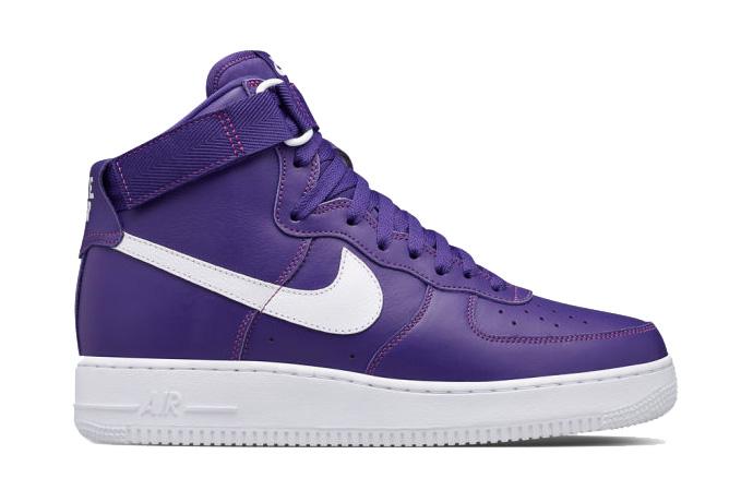 """Nike Air Force 1 High """"Varsity Purple"""""""