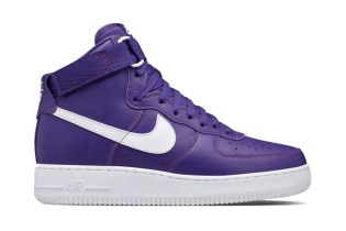 "Nike Air Force 1 High ""Varsity Purple"""