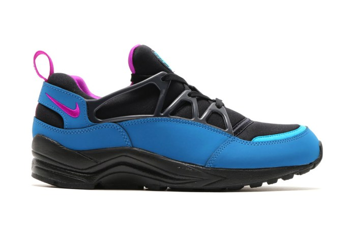 Nike Air Huarache Light FB Black/Vivid Purple-Brigade Blue-Anthracite