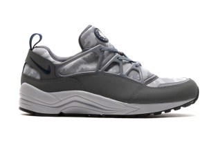 "Nike Air Huarache Light FB ""Flat Silver"""