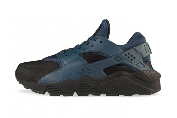 Nike Air Huarache Premium Black/Squadron Blue