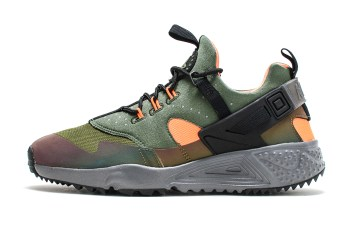 "Nike Air Huarache Utility ""Carbon Green"""