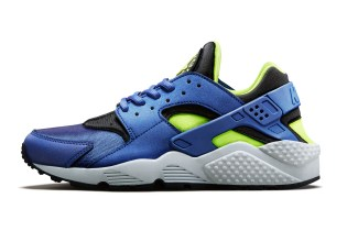 Nike WMNS Air Huarache Deep Royal/Volt