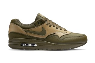 "Nike Air Max 1 Leather Premium ""Dark Loden"""
